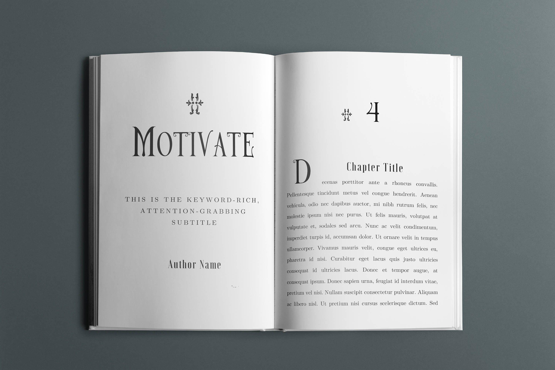 25 Book Interior Design Templates Bundle - 36 Pages - 5 Chapter ...