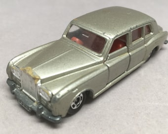 Vintage Tomica Rolls Royce Phantom VI Tomy Diecast Car