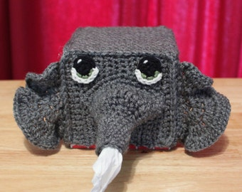 Elephant Tissue Box Cozy
