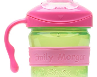 Personalized Daycare Labels for Baby Bottles & Sippy Cups (2 PACK)
