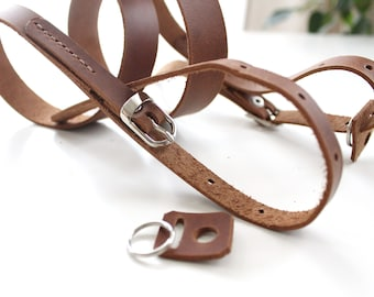 Genuine Leather Camera Brown leather camera strap Any camera Handmade Leather Camera Strap film and digital camera strap real leather