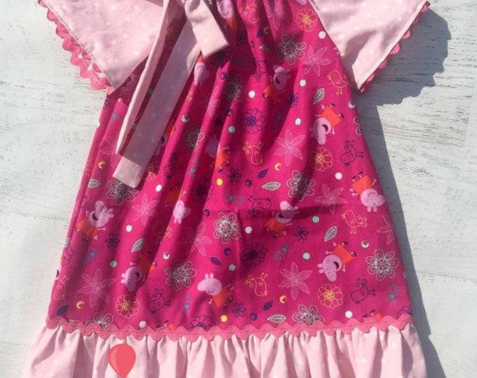 Peppa Pig Peasant Dress