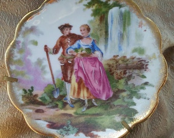 Limoges 4 -1/4 inch Ring/Decorative Dish