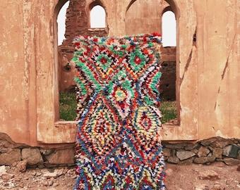 Boucherouite rug | Rag rug