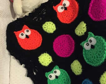 Over 50% off!!! Owl Obsession Baby blanket *READY TO SHIP**