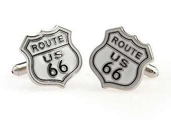 Route 66 US Cuff Links
