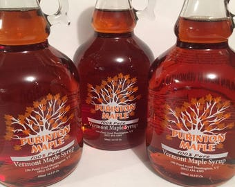 Vermont Maple Syrup 3- 500ml bottles