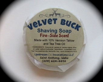 Velvet Buck Shaving Soap