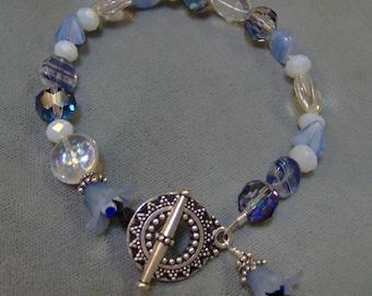 Czech Glass Artisan Beaded Bracelet-Beaded Bracelet-Boho Bracelet-SRAJD