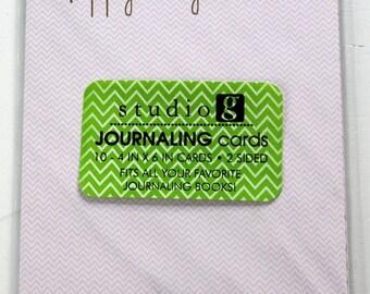 Sutdio G Journaling Tags - Scrapbook Embellishments