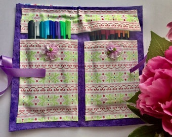 Pen case, make-up pouch, fabric bag
