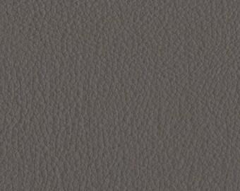 Champion Vinyl Grey upholstery Leather fabric per yard