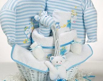 Catch a Star Baby Boy Gift Basket