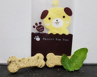 Mint Bones - Dog Biscuit