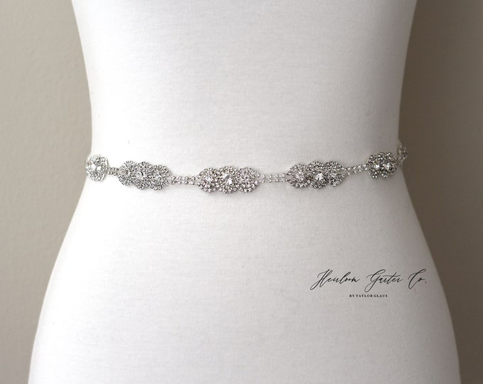 Bridal Belt, Rhinestone Bridal Belt, bridesmaid belt, Bridal Sash, Wedding Belt, Wedding Sash Rhinestone Sash
