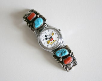 Mickey Mouse Navajo Watch