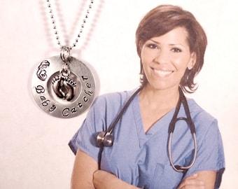 Midwife Gift - Baby Catcher - Newborn Care Specialist - Nanny - Baby Nurse - OBGYN -Appreciation - Thank You