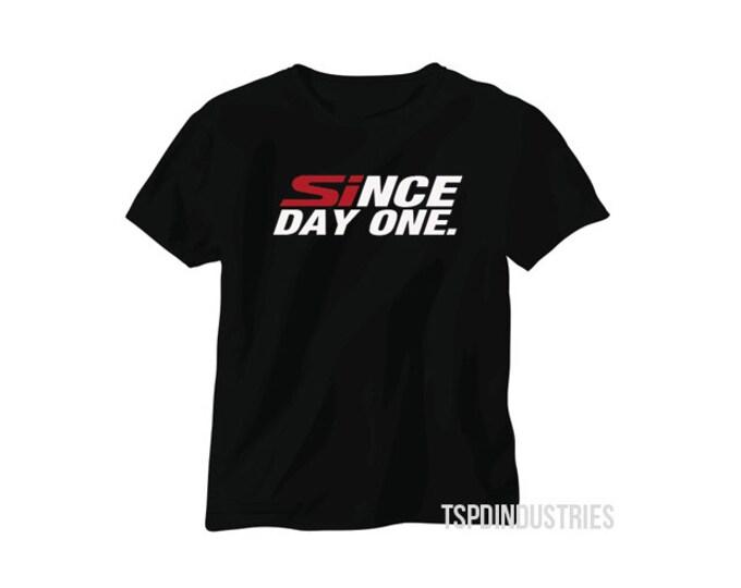 Since Day One Honda Black T-Shirt BLACK