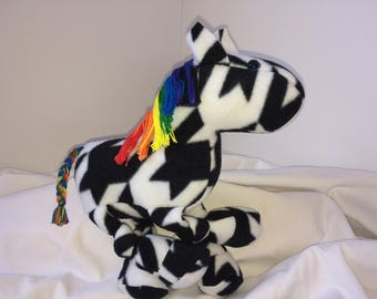 Rainbow-maned Zebra