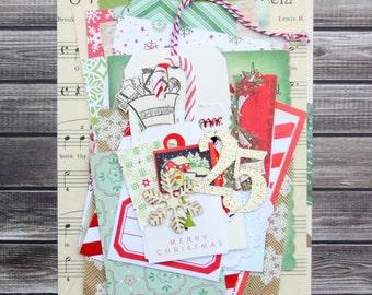 Christmas Ephemera Pack / Christmas DIY Kit / Junk Journal / Daily Planner