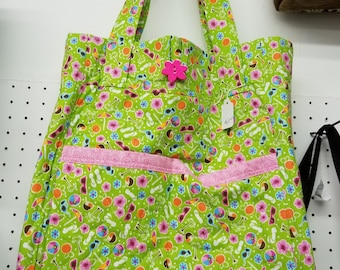 shopping or travel tote