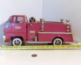 Vintage Tonka Turbine Fire Truck, Mound, Minnesota 1965 - 1969