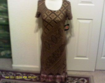 Vintage New ...Evening Dress......  Free shipping on this item