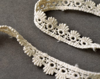 "1/2"" Vintage Cluny Lace Trim by 3-Yards, TR-10971"