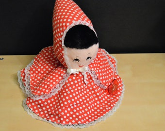 Reinhart Collection Little Red Riding Hood - Grandma - Big Bad Wolf Flip Doll, Reversible Puppet Plush, Topsy Turvy