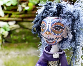 OOAK Maya Girl Art Doll! Handmade Girl Doll. Caira Art Doll.