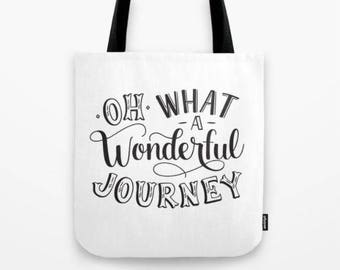 Oh What a Wonderful Journey Tote Bag Gift for Women