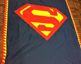 Superman Quilt