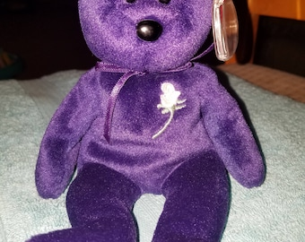 1997 Princess Diana Beanie Baby Extremely RARE, MINT Condition