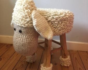 Sheep kids stool