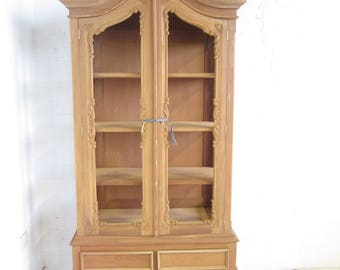 Double French Armoire with Glass