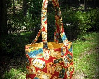 Tropical Travelogue Tote Bag