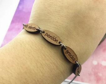 Ho'oponopono Bracelet - Spanish