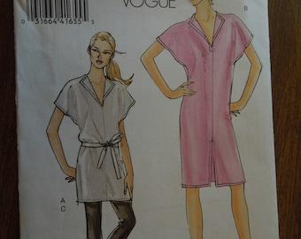 Vogue V8378, sizes 6-12, misses, petite, tunic, dress, pants, belt, UNCUT sewing pattern, craft supplies