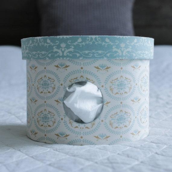 bo te mouchoirs ronde rangement des mouchoirs distributeur. Black Bedroom Furniture Sets. Home Design Ideas