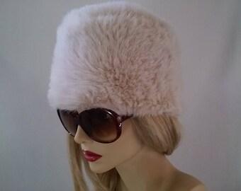Sweet Ivory Faux Fur Hat