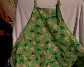 Apron Cookies and Candy Canes