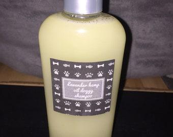 Lavender hemp oil doggy shampoo