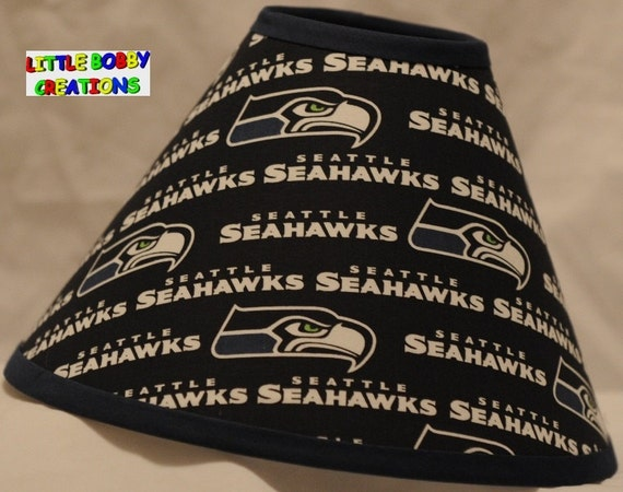 Nfl football seattle seahawks fabric lamp shade 10 sizes to mozeypictures Image collections