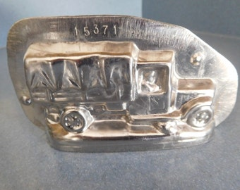 Army Truck by Vormenfabriek #15371 Vintage Metal Candy Mold