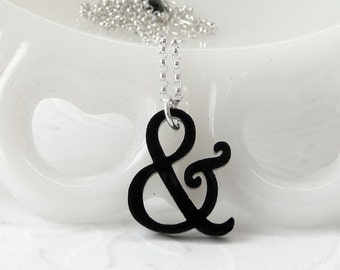 Mini Harrington Ampersand Halskette