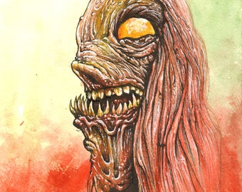 Original Monster Portrait - Longhair