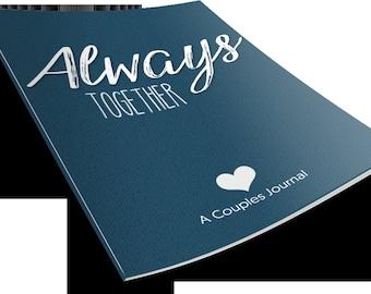 Printable couples journal, couples journal pdf, printable journal