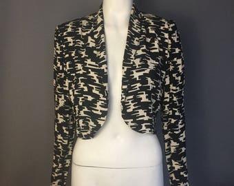1940s cropped jacket/ bolero