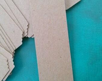 Bookmark Blanks, Bookmarks, Set of 20, Wedding Favor, Wedding Bookmark, DIY Bookmark