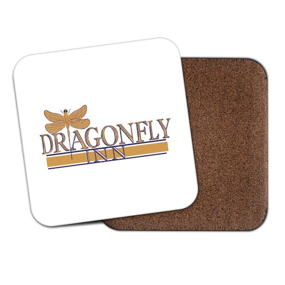 Dragonfly Inn Gilmore Girls Stars Hollow Connecticut coaster - Funny coaster 2S013